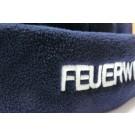 Feuerwehrmütze-Wintermütze aus Fleece 2-zeilig bestickt