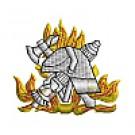 Feuerwehr-Weste mit Feuerwehrwappen Typ10