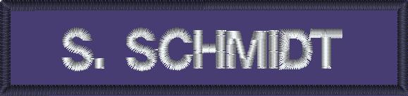 Feuerwehr-Namenschilder mit oder ohne KLETT