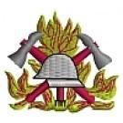Kapuzensweatshirt mit Feuerwehrwappen Typ01