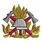 Feuerwehr-Kapuzenjacke mit Feuerwehrwappen Typ01