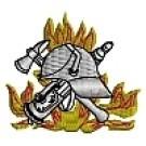 Kapuzensweatshirt mit Feuerwehrwappen Typ03