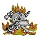 Feuerwehr-Kapuzenjacke mit Feuerwehrwappen Typ03