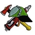 Kapuzensweatshirt mit Feuerwehrwappen Typ04