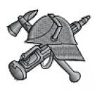 Kapuzensweatshirt mit Feuerwehrwappen Typ06