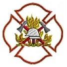 Kapuzensweatshirt mit Feuerwehrwappen Typ07